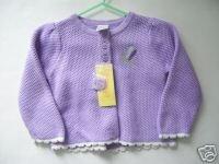 NWT Gymboree BOTANICAL BABIES Cardigan Sweater 12-18 M