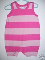 Hanna Andersson One Piece Pink Romper 70