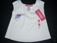 NWT Gymboree ROMANTIC GARDEN Flower Sleeveless Tee 6-12 months