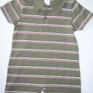 NWT Gymboree SURF CAMP Stripe Polo Romper 12-18 m