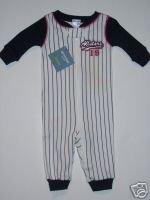 NWT Gymboree Gymmies Sports All Star Baseball PJ 0-3 m