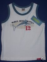 NWT Gymboree SALT WASHED Marlin Boat Tank Top 4