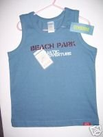 NWT Gymboree SALT WASHED Blue Beach Park Tank Top 4