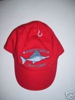 NWT Gymboree SALT WASHED Red Swordfish Cap 12 18 24