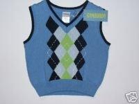 NWT Gymboree RESORT GETAWAY Gopher Sweater Vest 6-12 m