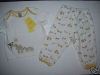 NWT Gymboree TROPICAL OASIS Yellow Camel 2pc SET 12-18
