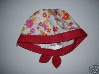 NWT Gymboree FIESTA FIESTA Flower Cap Hat 18-24 m