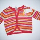 NWT Gymboree FIESTA FIESTA Crop Sweater Girl 3-6 m