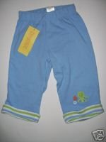 NWT Gymboree UNDER THE SEA Blue Octopus PANTS 6-12 m