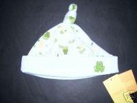 NWT Gymboree TINY POND Boy Frog Beanie Hat 3-6 m