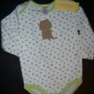 NWT Gymboree DOES YOUR GARDEN GROW Peapod Bodysuit 12