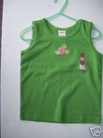 NWT Gymboree CORAL REEF Girl Green Tank 4