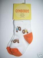 NWT Gymboree PRAIRIE RANCH Boys Tractor Socks 0-3 M