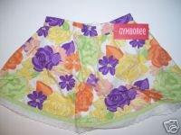 NWT Gymboree COLORFUL PARADISE Tropical Skirt 18-24 m