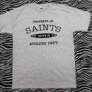 Property Of Saints Athletic Department T-shirt
