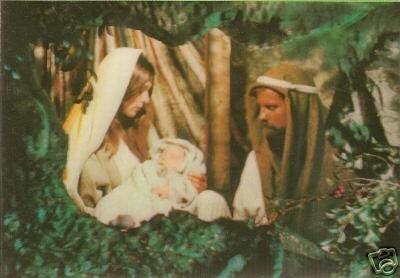 Jesus, Mary & Joseph - 3D Card