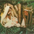 Jesus, Mary & Joseph - 3D Card