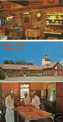 Lot of 3 - AMANA MEAT SHOP - Amana, Iowa