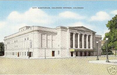 City Auditorium - Colorado Springs, CO