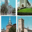 LOT of 4 CHURCHES
