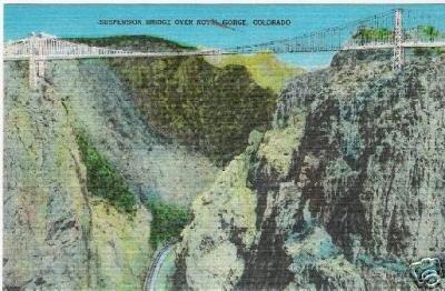 Suspension Bridge over Royal Gorge CO