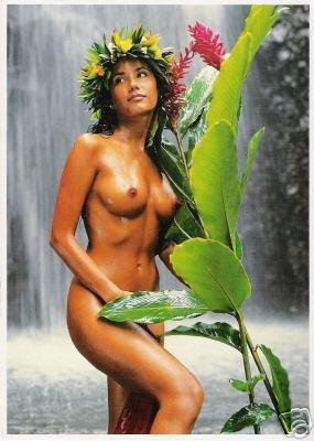 Girls of the South Seas - Topless Tahiti Girl - Card 12