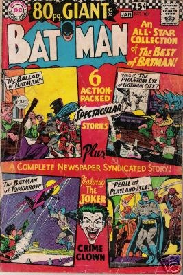 Batman - Giant Issue #187 (Dec 1966-Jan 1967)