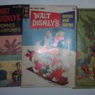 Set of 3 - Walt Disney Comics & Stories