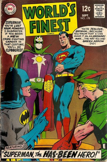 Worlds Finest Comics #178 (Sept 1968)