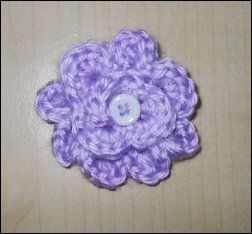 lilac blossom pin