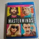 Bluray Masterminds Owen Wilson Zach Galifianakis Kristen Wiig BR + DVD OD3A29