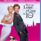 Bluray How to Lose a Guy in 10 Days Kate Hudson Matthew McConaughey WS OD3A14