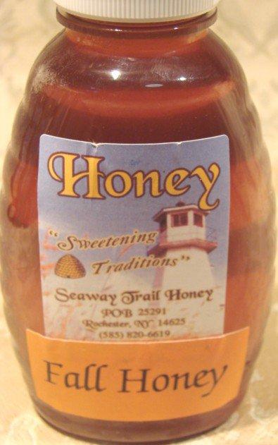 Pure & Natural Jar of Fall Honey 8oz Goldenrod Wild Flower