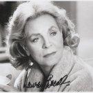 Lauren Bacall JSA autograph