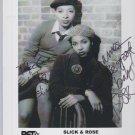 Slick & Rose autograph
