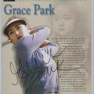 Grace Park PSA-DNA autograph