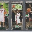 Dwyane Wade LeBron James Darko Milicic #115-111-112 Rookies