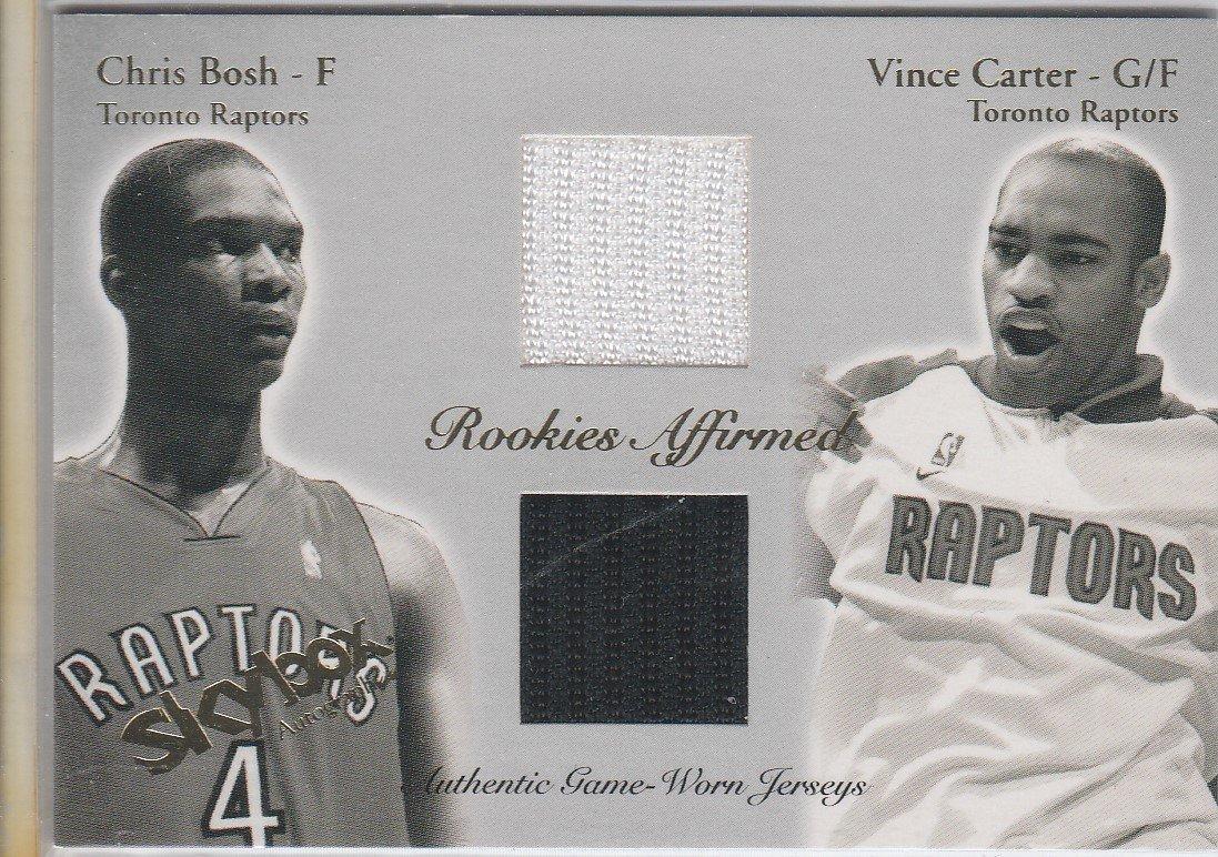 Vince Carter Chris Bosh CB/VC