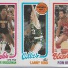 Fred Brown / Larry Bird / Ron Brewer 228 /31 / 198