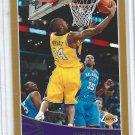 Kobe Bryant Gold Card #123