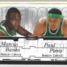 Paul Pierce/Marcus Banks #3