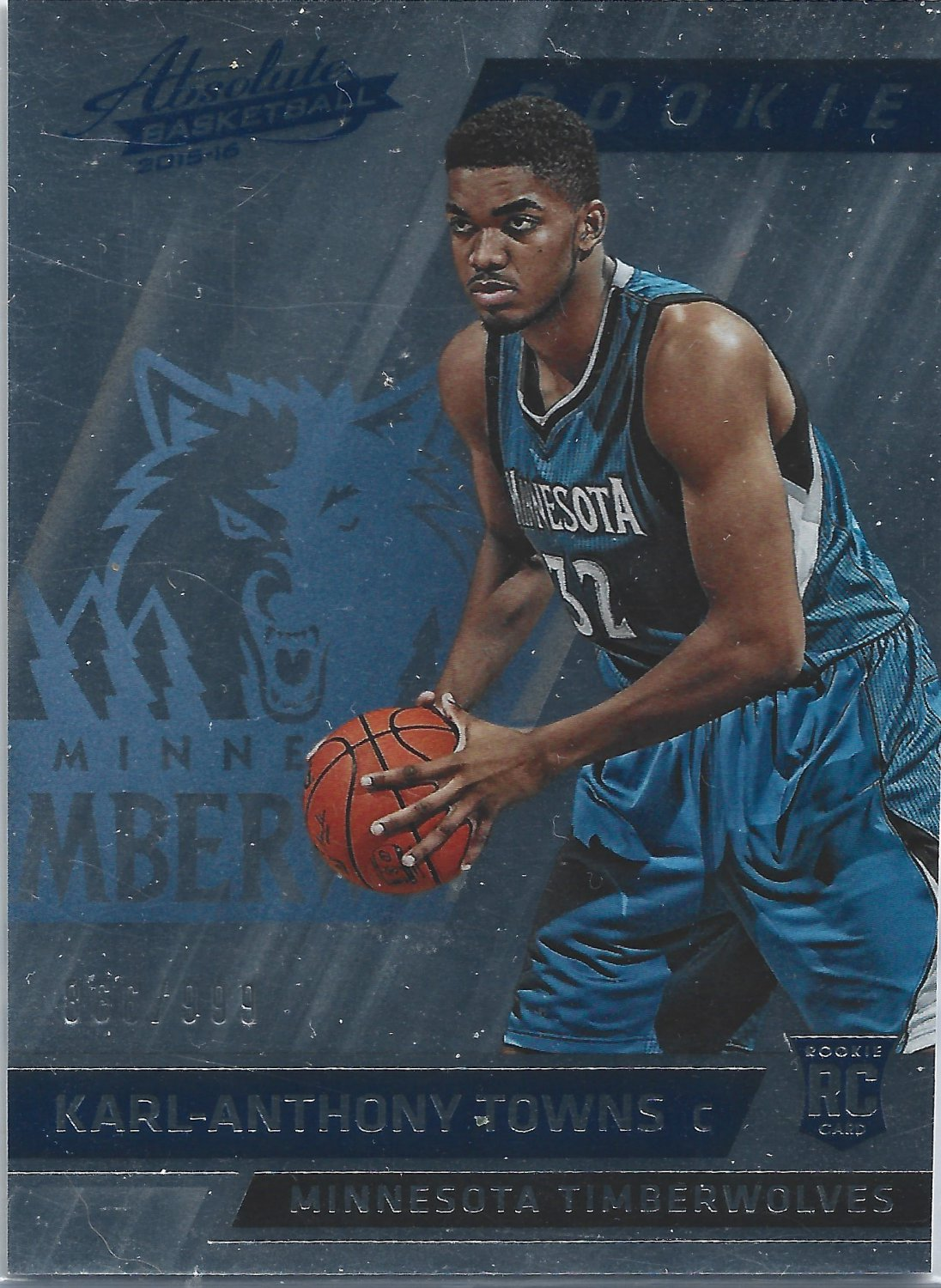 Karl Anthony Towns #167 Rookie