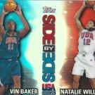 VIN BAKER (R) / NATALIE WILLIAMS #SS5