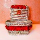 ✅basket-Handmade-storage-gift basket-Basket with lid-home Living-Basket palm-natural