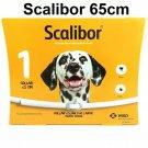 1X Dog Tick Collar Scalibor Dog Collar 65cm Prevent Fleas Kill Ticks Protector 6 Months Large Dogs