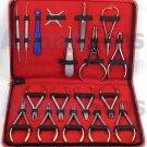18 PCs Basic Orthodontics Dental Instruments Set Premium Quality Composite Kit Surgical Implant