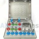 16 Pcs Surgical Drills Kit Dental Implant Burs Parallel Wall Expander Hex Driver Instruments