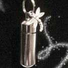 NITRO PILL HOLDER with Inner Vial and DRAGONFLY Charm
