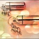 Unicorn 2pc. Special Set - Cremation Urn Necklace & Keychain Urn & Velvet Pouch