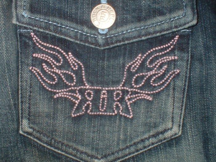 Rock & Republic Stevie Chroma Pink Sz. 28